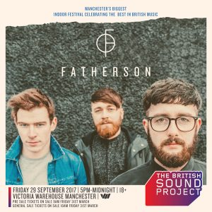 Fatherson at British Sound Project