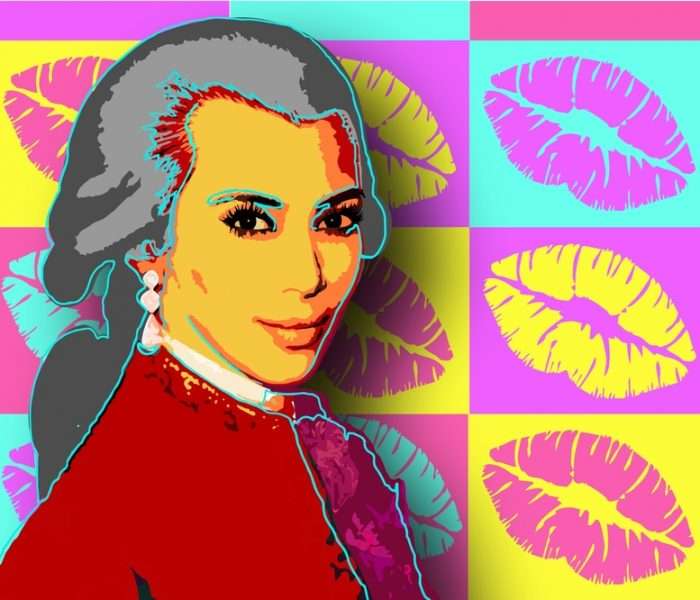 Kim Kardashian's marriage mashed with Mozart in satirical musical