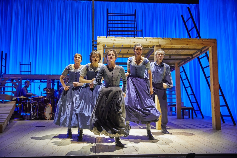 JANE EYRE, National Theatre at The Lowry. Photo by Brinkhoff/Mögenburg.