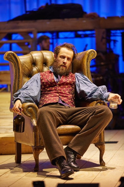 JANE EYRE: Tim Delap (Rochester), National Theatre at The Lowry. Photo by Brinkhoff/Mögenburg.