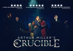 a review of arthur millers the crucible and the politics of its time The poetry that arthur miller writes and the poetry that he celebrates is the miracle of human life, in all its bewilderments, its betrayals, its denials, but, finally, and most significantly, its transcendent worth.