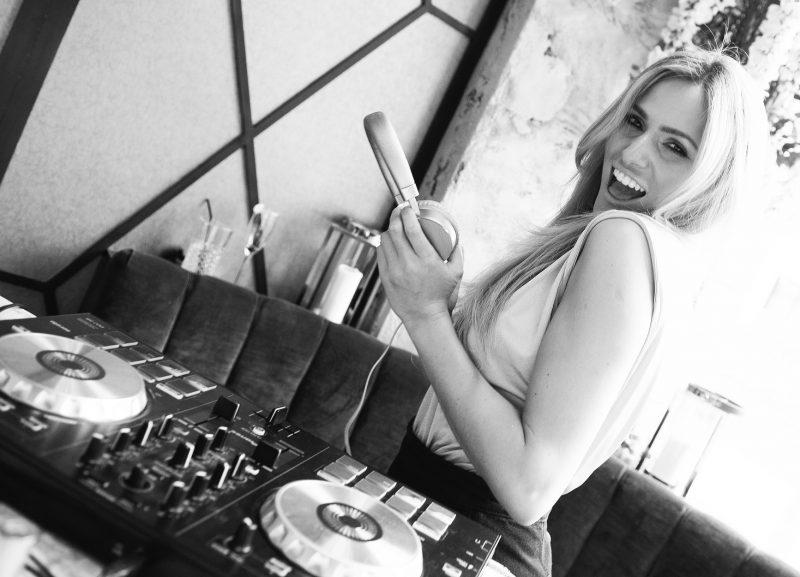 DJ Helen Holt- Photo Credit: Gemma Parker /Perscent and Dave Nelson
