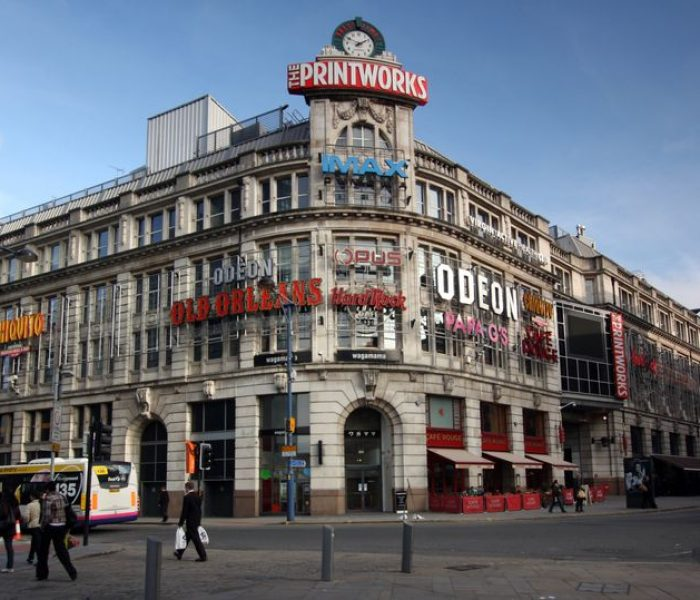 Manchester's Odeon Cinema in the Printworks is CLOSING DOWN