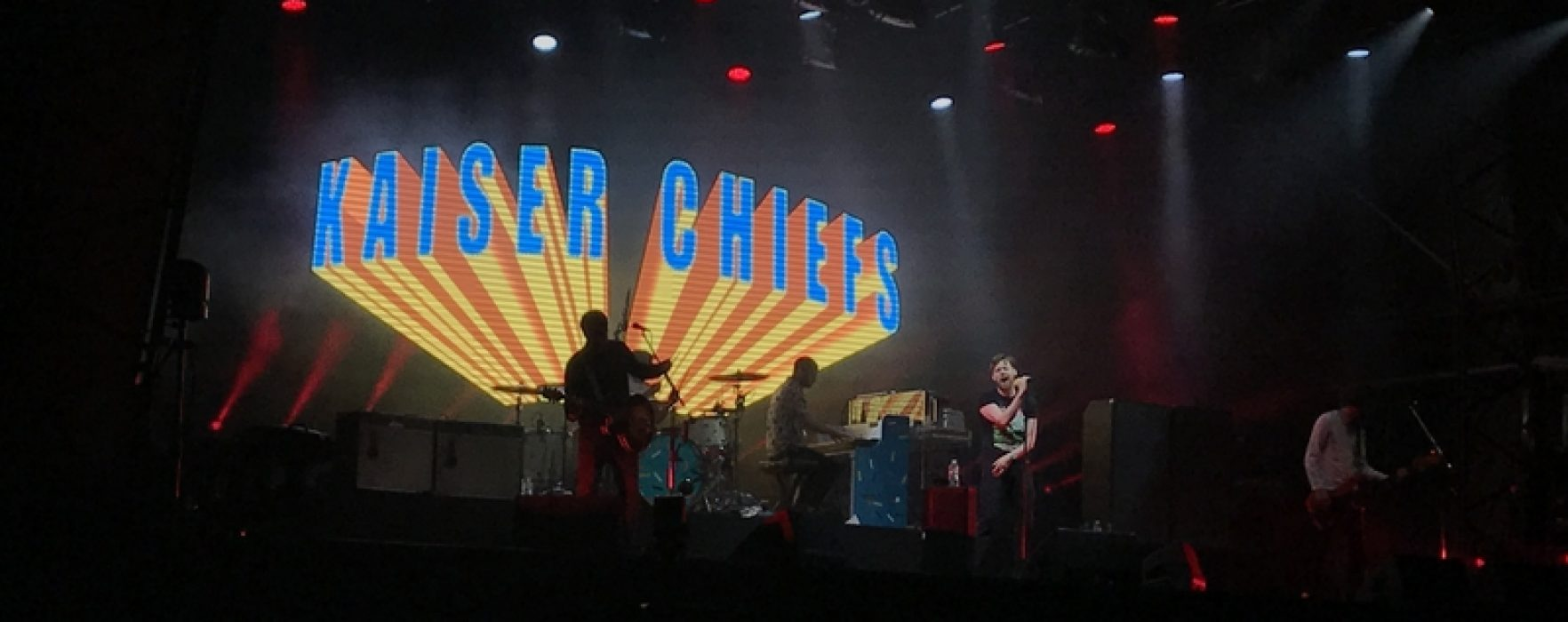 REVIEW: An Evening with The Kaiser Chiefs at Aintree Racecourse