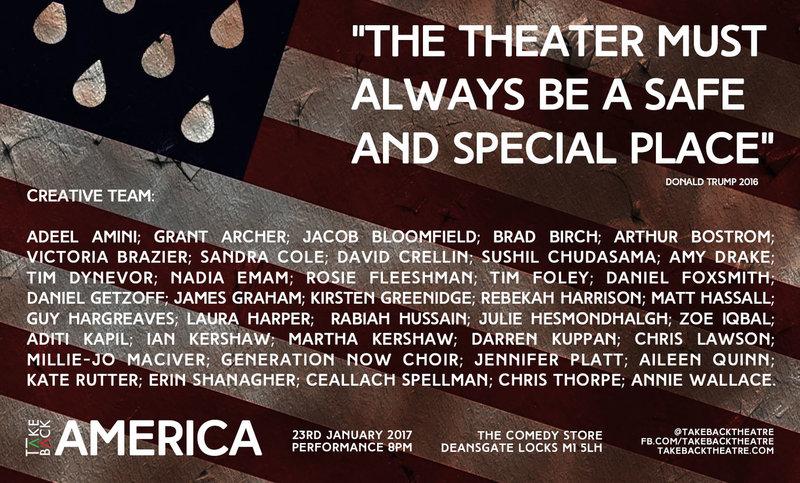Take Back America poster