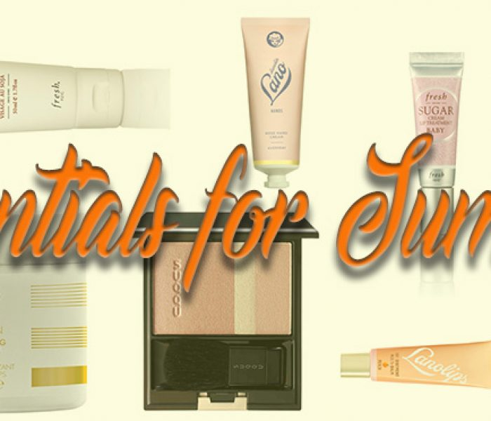 The Beauty Essentials You Need This Summer!