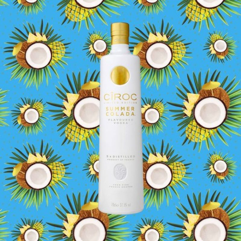 WIN! A 70cl Bottle Of CÎROC's 'Summer Colada'