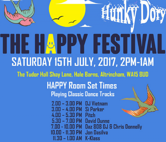 'The Happy Mondays' Paul Ryder Talks Music And Legendary Manchester Parties Ahead Of 'The Happy Festival' This Weekend
