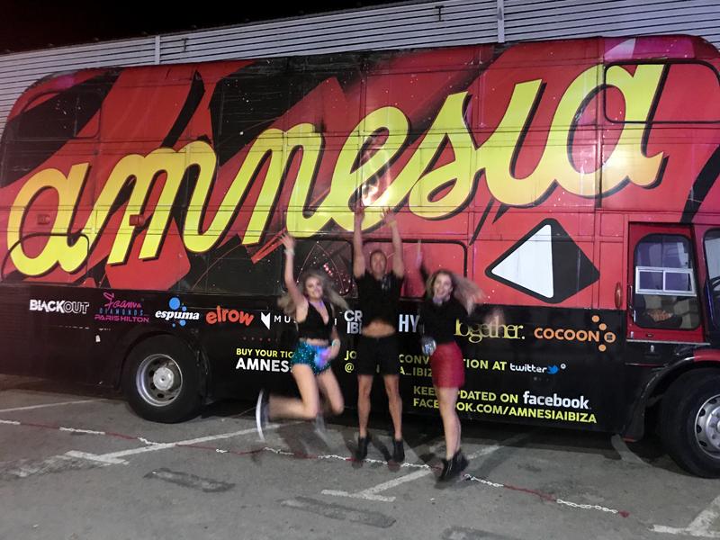 Katie Mcglynn, Sammy B and Girl On Sax at Amnesia