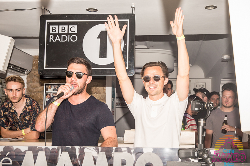 Radio 1 at Cafe Mambo