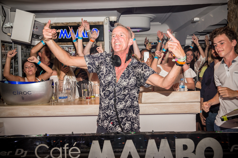 Fat Boy Slim at Cafe Mambo