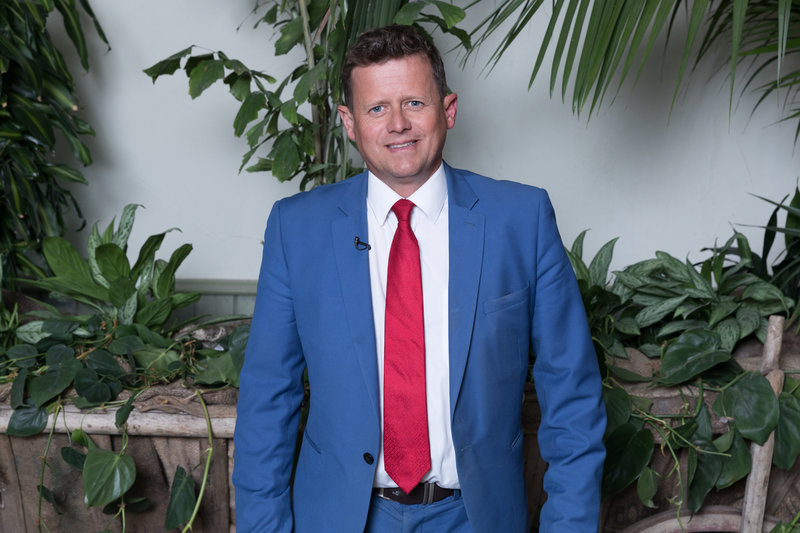 BBC Breakfast's Mike Bushell at The Botanist in Media City.