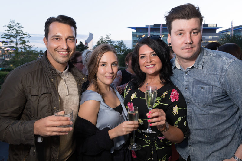 The Botanist Media City launch party.