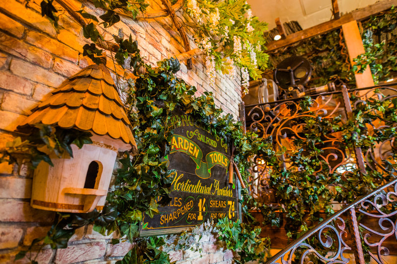 The Botanist Media City.