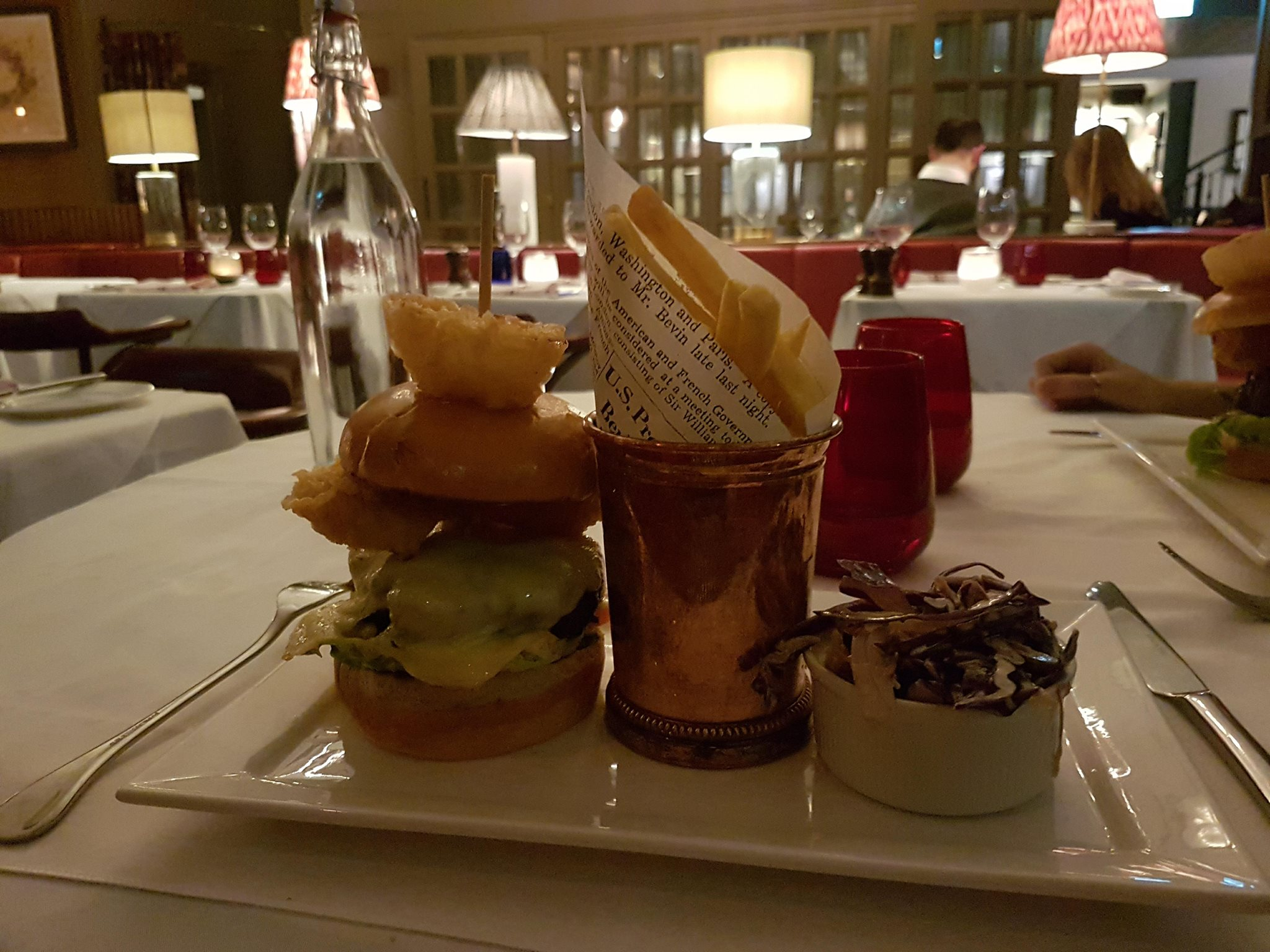 The King Street Townhouse Burger
