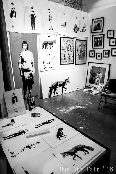 Buy Art Fair 2016. Photo by Elspeth Moore.