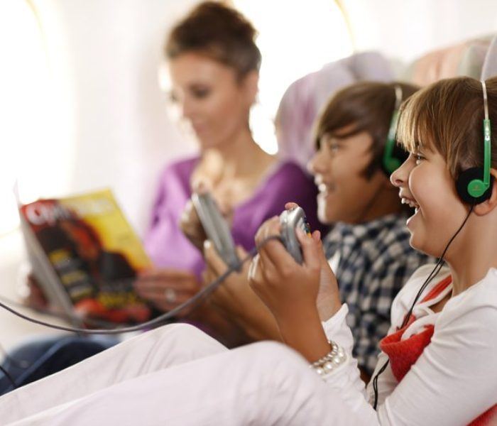 Kids From Manchester Bored 49 Minutes Into Their Long-Haul Flight