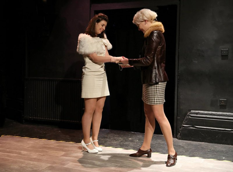 Lucy Hilton Jones (Pauline Reade) and Eve Burley (young Myra Hindley)