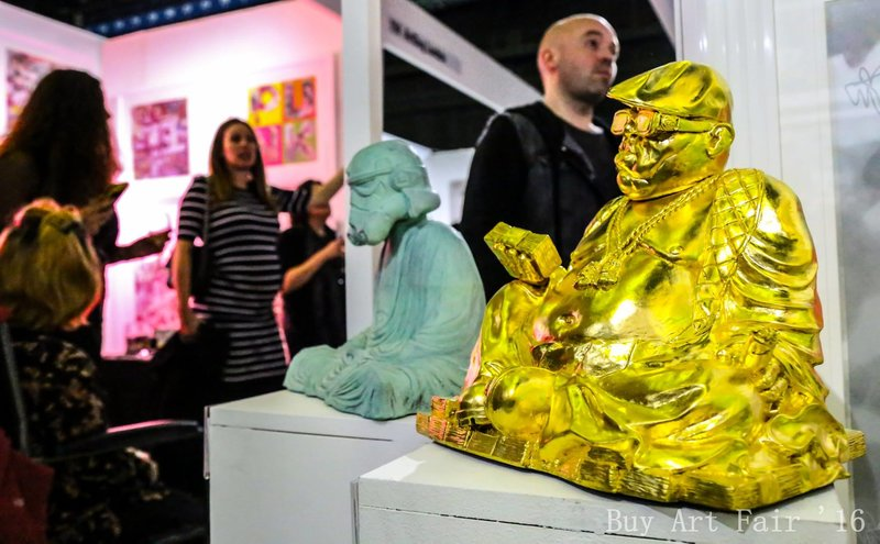 Star Wars at Buy Art Fair 2016. Photo by Elspeth Moore.