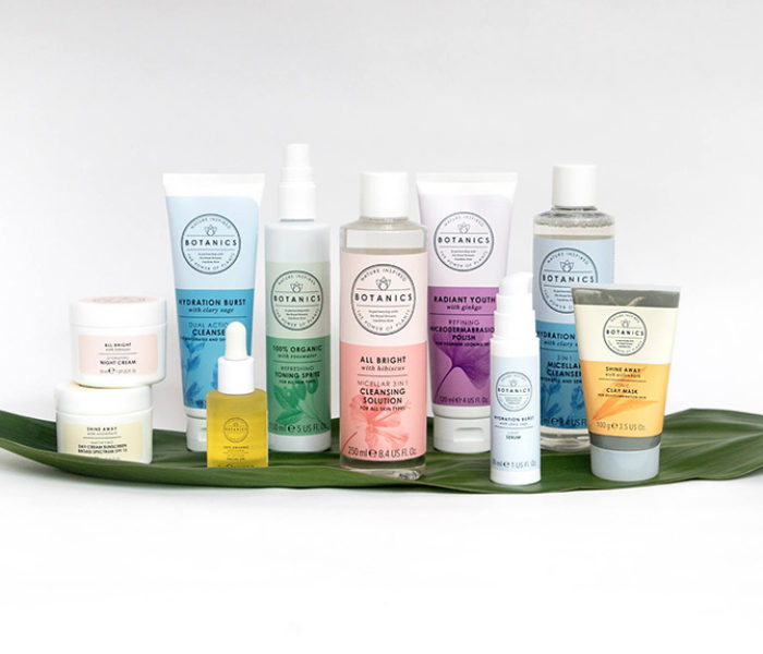 Maintain your summer glow with Botanics skin care collections