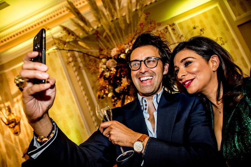 Armand Beasley and Shobna Gulati. Photo by Elspeth Moore