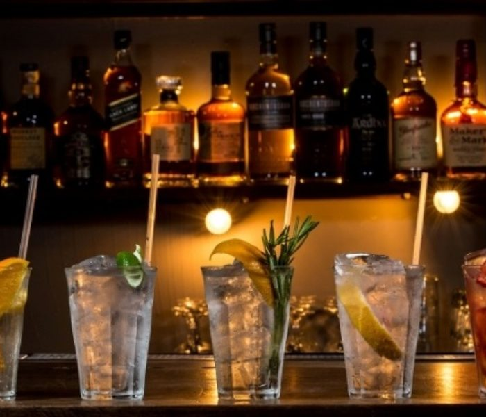 Popup Gin Review: Graphic Bar @ Ask For Janice