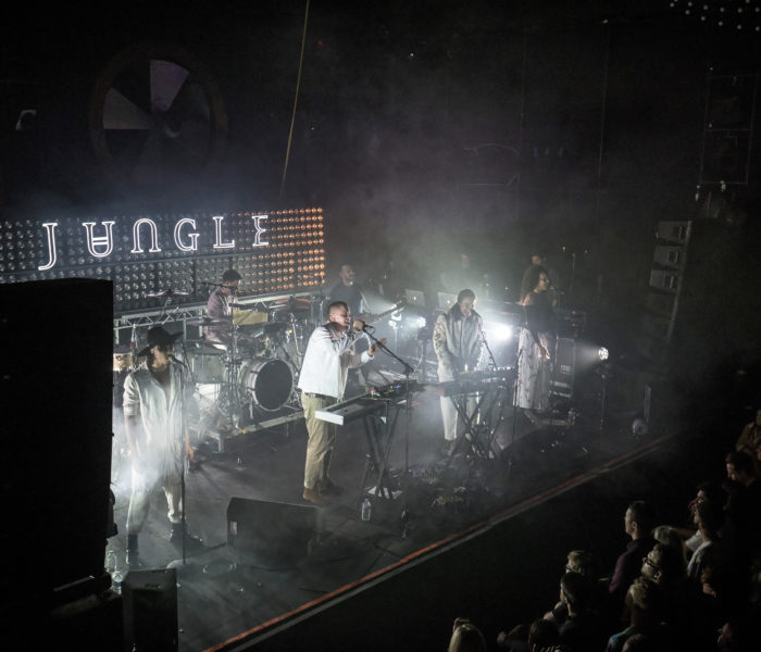 JUNGLE brought The Heat to Liverpool Music Week