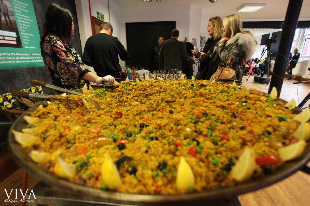 Giant paella courtesy of Kelly's Kitchen