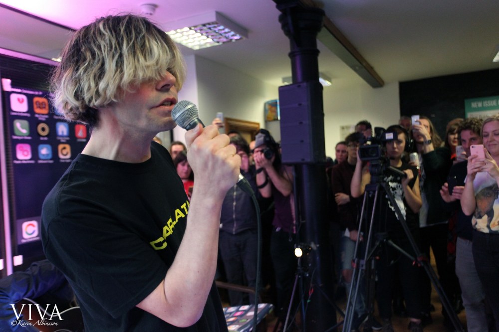 Tim Burgess of The Charlatans