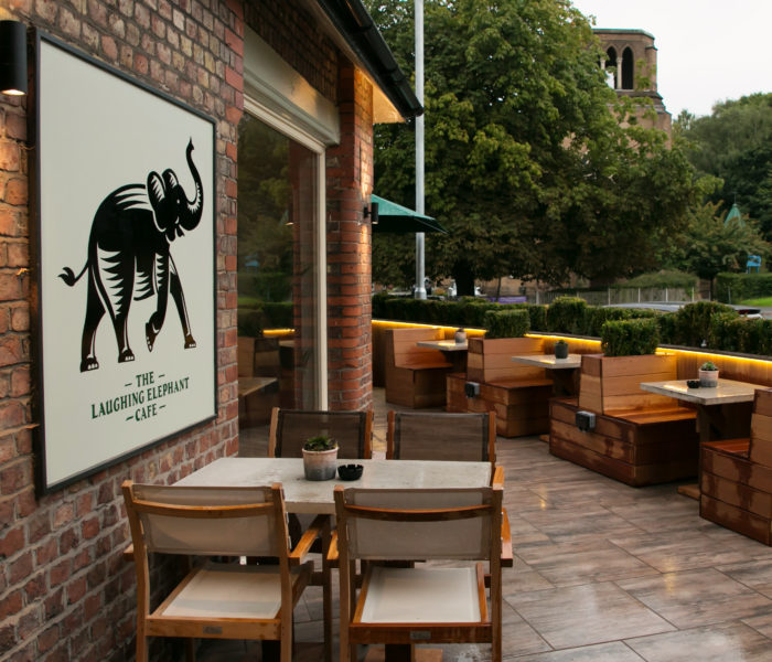 The Laughing Elephant Cafe: A place for Fun, Flare and Fantastic Food!