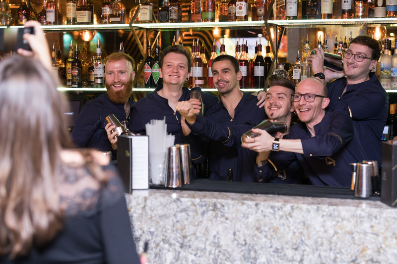 Dirty Martini launch party. Photo: Carl Sukonik/The Vain.
