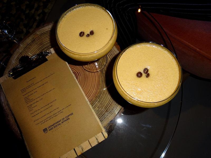 Signature espresso martinis