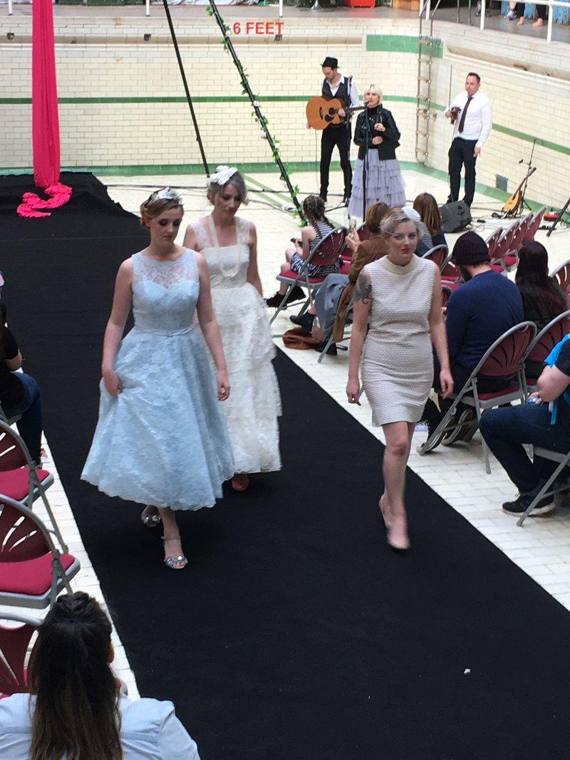 Magpie Wedding Fair at Victoria Baths in Manchester.
