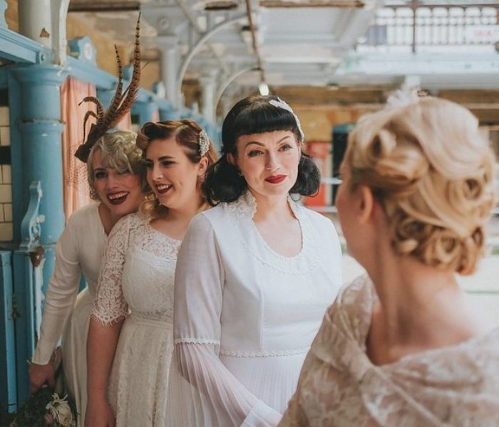 Step back in time at Victoria Baths for vintage wedding fair – just like a TV star!