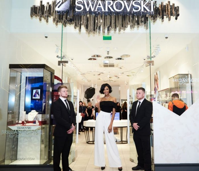 Supermodel Jourdan Dunn Makes An Appearance At Swarovski Manchester