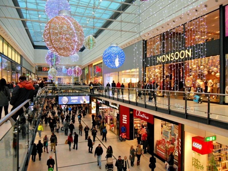 Arndale Shopping Christmas