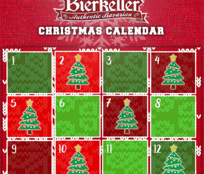 Bierkeller Launches 12 Days of Christmas Competition