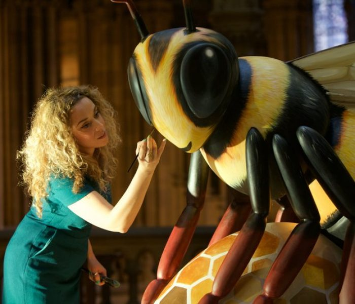 Bee In The City This Summer – Sponsor Or Design A Giant Bee Sculpture