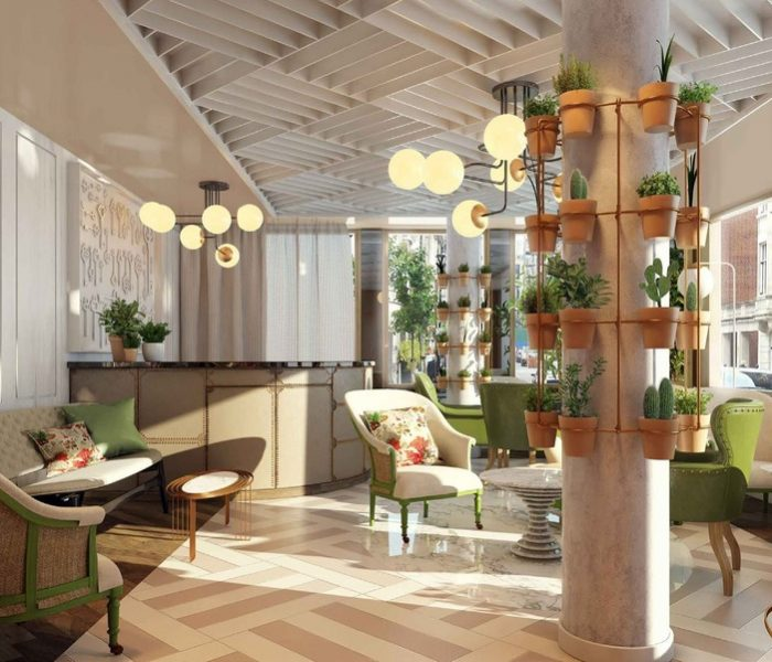 Check out the fabulous hotel that's hitting London this Spring!
