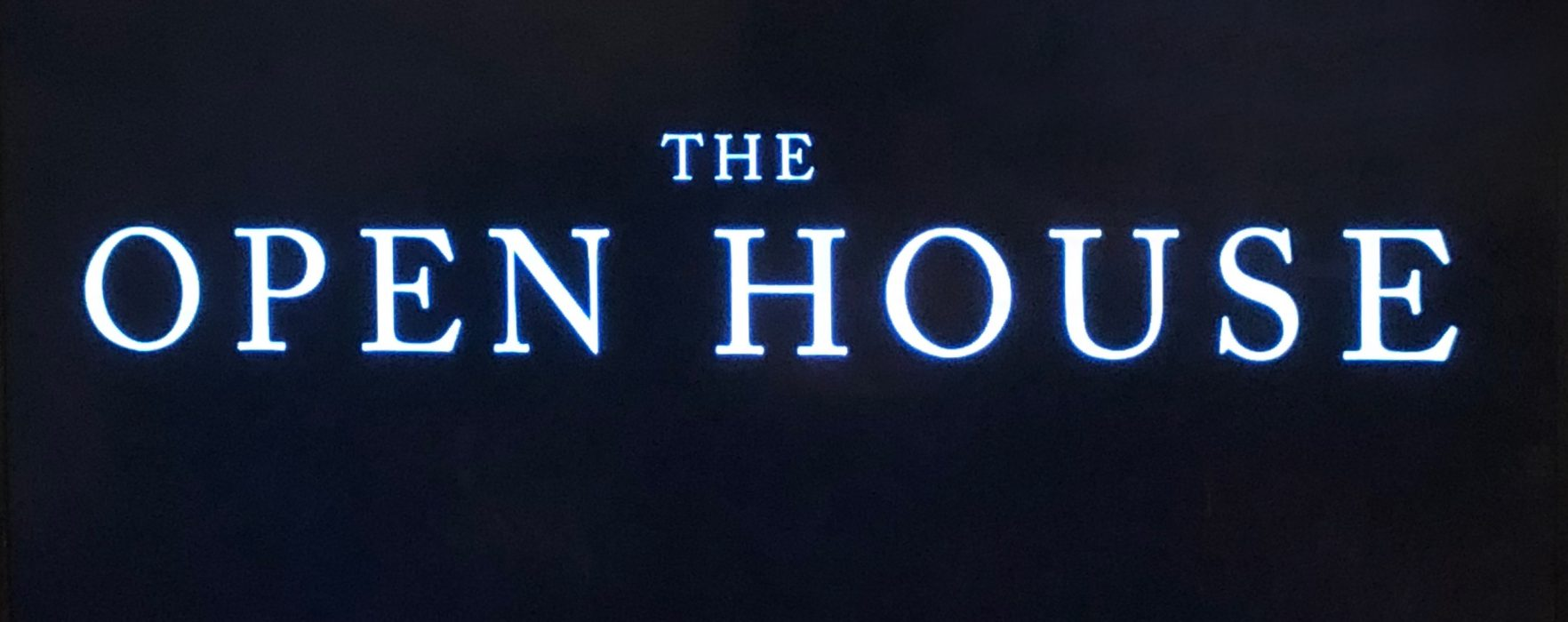 REVIEW: The Open House