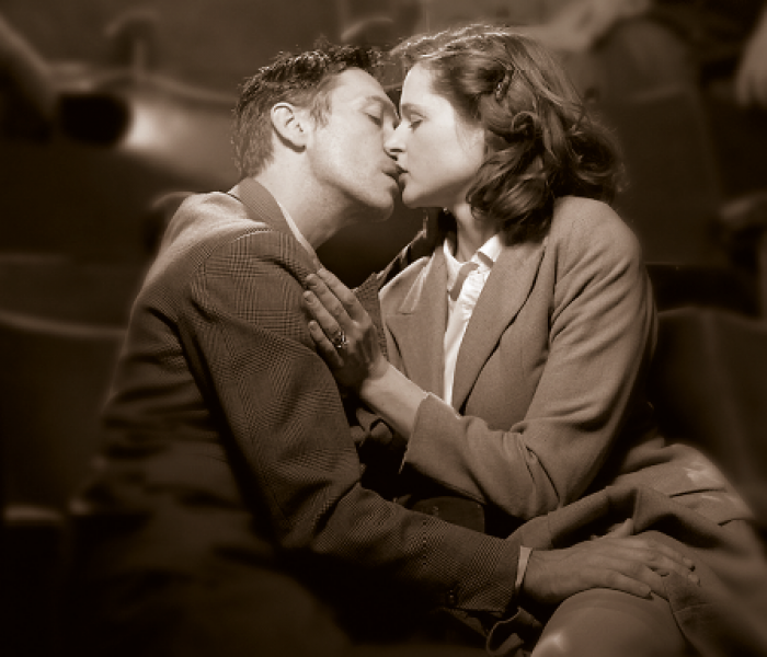 Celebrities enjoy Brief Encounter at the Lowry Theatre in Salford – before London