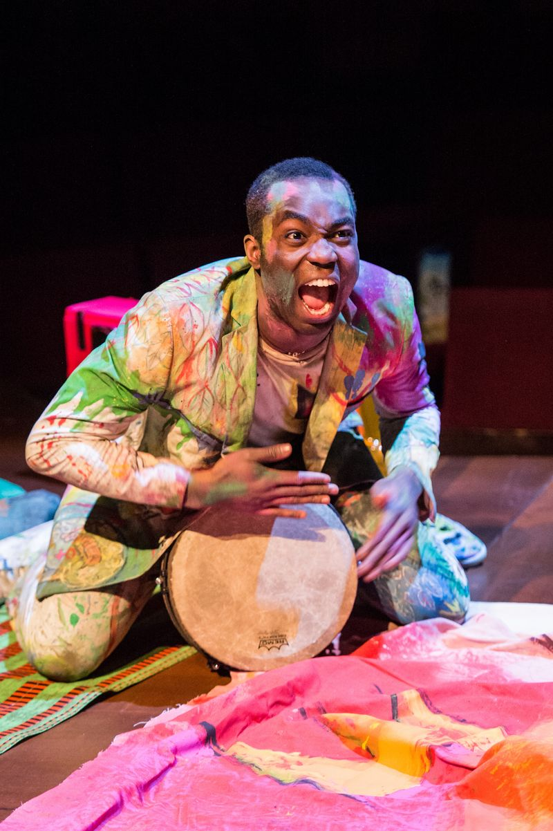 Paapa Essiedu as Hamlet. Photo by Manuel Harlan for the RSC