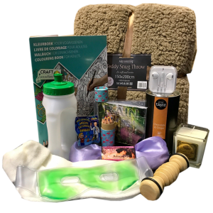 Items In The Cancer Comfort Gift Hamper