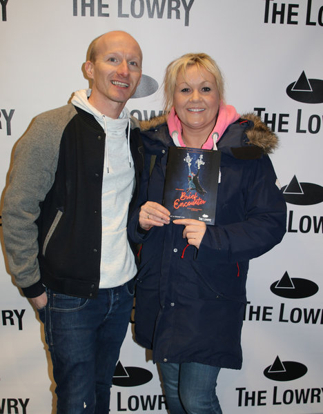 Lisa George and Adam Blease at Brief Encounter press night