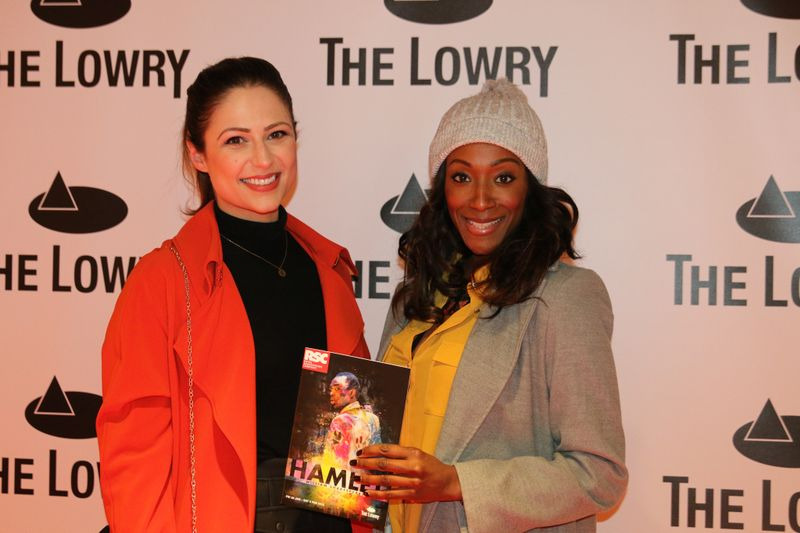 Nicola Thorp and Victoria Ekanoye. Photo by  Georgia Litherland.
