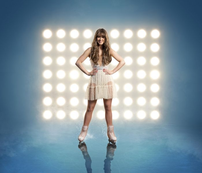 Manchester's Brooke Vincent is in the semi-finals of Dancing on Ice