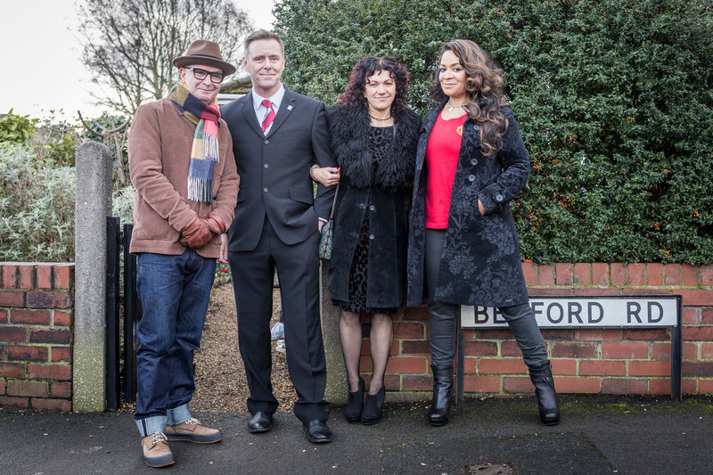 Martin Moscrop (A Certain Ratio), Charlie and Alison Bell and Rowetta