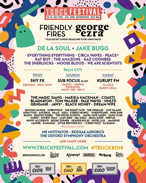 The Sherlocks will play Truck Festival 2018