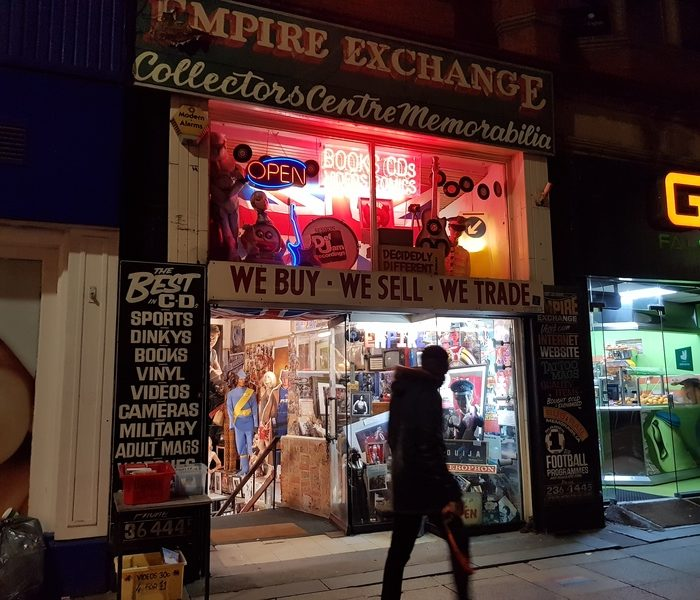 Everyone's memories are in Empire Exchange – where time travel is possible