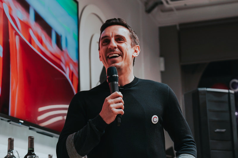 Gary Neville at Sync